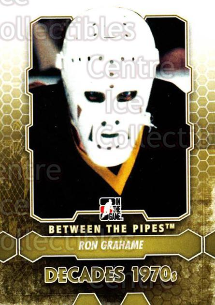 2012-13 Between The Pipes #156 Ron Grahame<br/>9 In Stock - $1.00 each - <a href=https://centericecollectibles.foxycart.com/cart?name=2012-13%20Between%20The%20Pipes%20%23156%20Ron%20Grahame...&quantity_max=9&price=$1.00&code=542226 class=foxycart> Buy it now! </a>