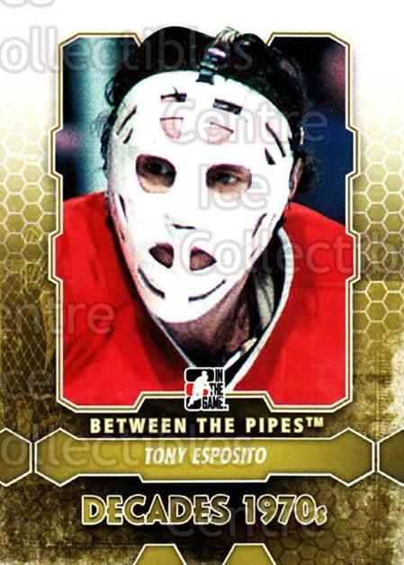 2012-13 Between The Pipes #158 Tony Esposito<br/>8 In Stock - $2.00 each - <a href=https://centericecollectibles.foxycart.com/cart?name=2012-13%20Between%20The%20Pipes%20%23158%20Tony%20Esposito...&quantity_max=8&price=$2.00&code=542228 class=foxycart> Buy it now! </a>
