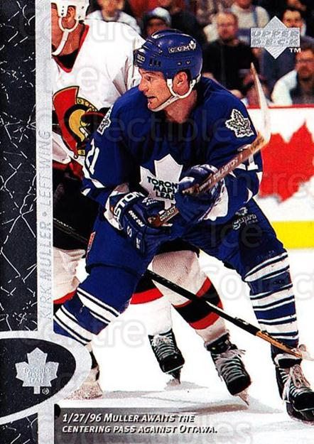 1996-97 Upper Deck #165 Kirk Muller<br/>6 In Stock - $1.00 each - <a href=https://centericecollectibles.foxycart.com/cart?name=1996-97%20Upper%20Deck%20%23165%20Kirk%20Muller...&quantity_max=6&price=$1.00&code=54223 class=foxycart> Buy it now! </a>