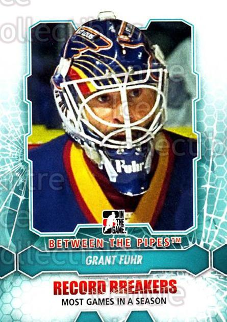 2012-13 Between The Pipes #182 Grant Fuhr<br/>9 In Stock - $1.00 each - <a href=https://centericecollectibles.foxycart.com/cart?name=2012-13%20Between%20The%20Pipes%20%23182%20Grant%20Fuhr...&quantity_max=9&price=$1.00&code=542252 class=foxycart> Buy it now! </a>