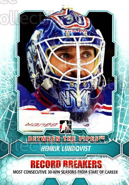 2012-13 Between The Pipes #185 Henrik Lundqvist<br/>5 In Stock - $2.00 each - <a href=https://centericecollectibles.foxycart.com/cart?name=2012-13%20Between%20The%20Pipes%20%23185%20Henrik%20Lundqvis...&quantity_max=5&price=$2.00&code=542255 class=foxycart> Buy it now! </a>