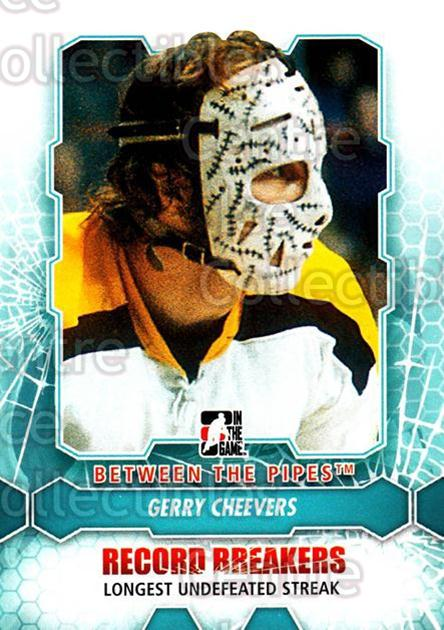 2012-13 Between The Pipes #186 Gerry Cheevers<br/>6 In Stock - $1.00 each - <a href=https://centericecollectibles.foxycart.com/cart?name=2012-13%20Between%20The%20Pipes%20%23186%20Gerry%20Cheevers...&quantity_max=6&price=$1.00&code=542256 class=foxycart> Buy it now! </a>