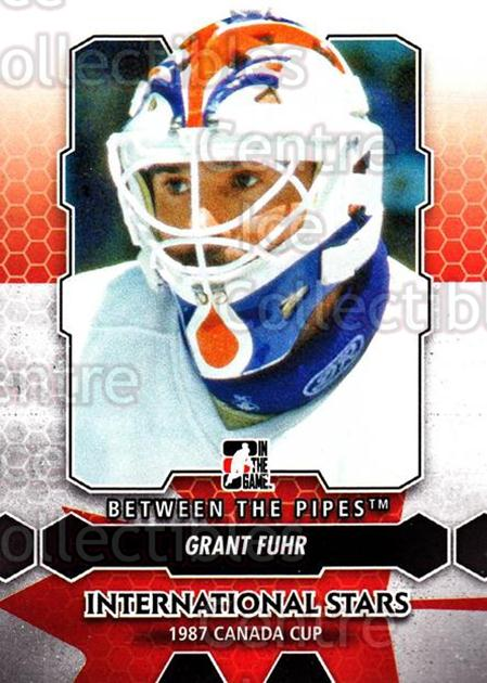 2012-13 Between The Pipes #195 Grant Fuhr<br/>6 In Stock - $1.00 each - <a href=https://centericecollectibles.foxycart.com/cart?name=2012-13%20Between%20The%20Pipes%20%23195%20Grant%20Fuhr...&quantity_max=6&price=$1.00&code=542265 class=foxycart> Buy it now! </a>