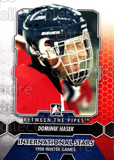 2012-13 Between The Pipes #198 Dominik Hasek<br/>4 In Stock - $1.00 each - <a href=https://centericecollectibles.foxycart.com/cart?name=2012-13%20Between%20The%20Pipes%20%23198%20Dominik%20Hasek...&quantity_max=4&price=$1.00&code=542268 class=foxycart> Buy it now! </a>
