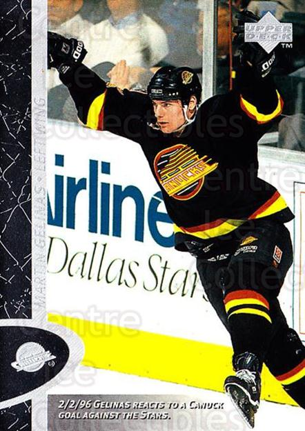 1996-97 Upper Deck #171 Martin Gelinas<br/>7 In Stock - $1.00 each - <a href=https://centericecollectibles.foxycart.com/cart?name=1996-97%20Upper%20Deck%20%23171%20Martin%20Gelinas...&quantity_max=7&price=$1.00&code=54229 class=foxycart> Buy it now! </a>