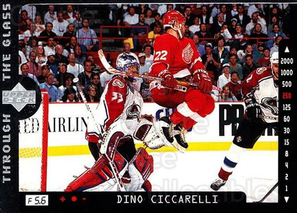 1996-97 Upper Deck #196 Dino Ciccarelli<br/>7 In Stock - $1.00 each - <a href=https://centericecollectibles.foxycart.com/cart?name=1996-97%20Upper%20Deck%20%23196%20Dino%20Ciccarelli...&quantity_max=7&price=$1.00&code=54249 class=foxycart> Buy it now! </a>