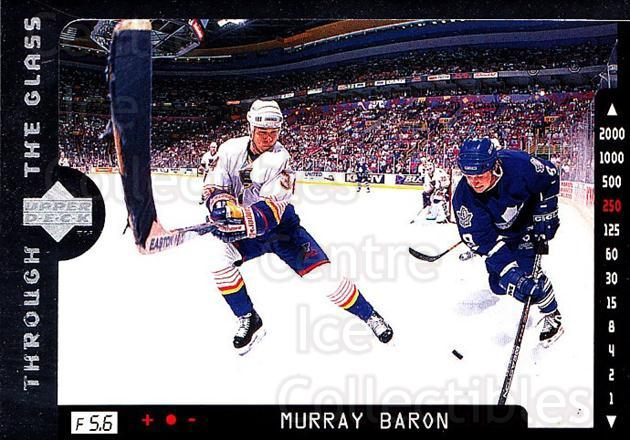 1996-97 Upper Deck #198 Murray Baron<br/>7 In Stock - $1.00 each - <a href=https://centericecollectibles.foxycart.com/cart?name=1996-97%20Upper%20Deck%20%23198%20Murray%20Baron...&quantity_max=7&price=$1.00&code=54251 class=foxycart> Buy it now! </a>