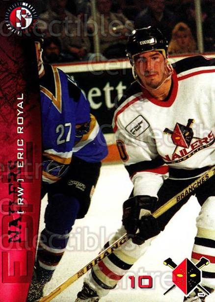 1996-97 Wheeling Nailers #17 Eric Royal<br/>3 In Stock - $3.00 each - <a href=https://centericecollectibles.foxycart.com/cart?name=1996-97%20Wheeling%20Nailers%20%2317%20Eric%20Royal...&quantity_max=3&price=$3.00&code=54258 class=foxycart> Buy it now! </a>