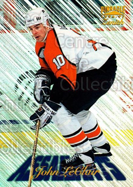 1996-97 Zenith Assailants #10 John LeClair<br/>10 In Stock - $2.00 each - <a href=https://centericecollectibles.foxycart.com/cart?name=1996-97%20Zenith%20Assailants%20%2310%20John%20LeClair...&quantity_max=10&price=$2.00&code=54278 class=foxycart> Buy it now! </a>