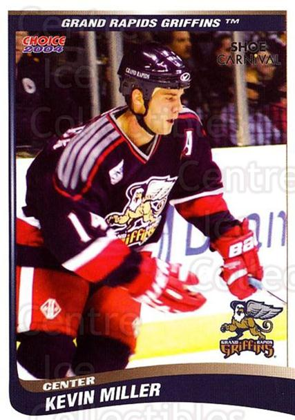 2003-04 Grand Rapids Griffins #14 Kevin Miller<br/>3 In Stock - $3.00 each - <a href=https://centericecollectibles.foxycart.com/cart?name=2003-04%20Grand%20Rapids%20Griffins%20%2314%20Kevin%20Miller...&quantity_max=3&price=$3.00&code=544147 class=foxycart> Buy it now! </a>