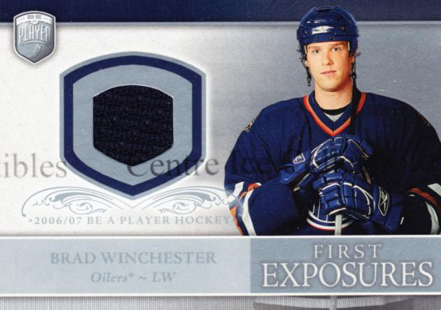 2006-07 Be A Player Portraits First Exposures Jersey #FEBW Brad Winchester<br/>2 In Stock - $5.00 each - <a href=https://centericecollectibles.foxycart.com/cart?name=2006-07%20Be%20A%20Player%20Portraits%20First%20Exposures%20Jersey%20%23FEBW%20Brad%20Winchester...&quantity_max=2&price=$5.00&code=544525 class=foxycart> Buy it now! </a>