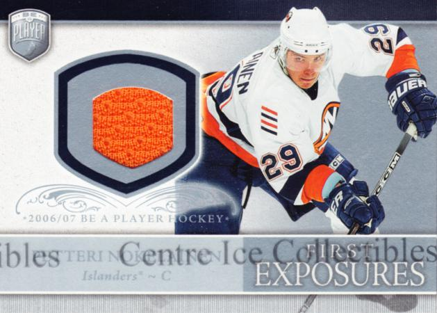 2006-07 Be A Player Portraits First Exposures Jersey #FEPN Petteri Nokelainen<br/>1 In Stock - $5.00 each - <a href=https://centericecollectibles.foxycart.com/cart?name=2006-07%20Be%20A%20Player%20Portraits%20First%20Exposures%20Jersey%20%23FEPN%20Petteri%20Nokelai...&quantity_max=1&price=$5.00&code=544547 class=foxycart> Buy it now! </a>