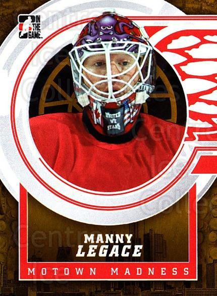 2012-13 ITG Motown Madness Gold #83 Manny Legace<br/>3 In Stock - $10.00 each - <a href=https://centericecollectibles.foxycart.com/cart?name=2012-13%20ITG%20Motown%20Madness%20Gold%20%2383%20Manny%20Legace...&quantity_max=3&price=$10.00&code=544844 class=foxycart> Buy it now! </a>