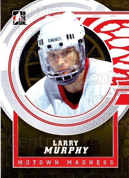 2012-13 ITG Motown Madness Gold #103 Larry Murphy<br/>3 In Stock - $10.00 each - <a href=https://centericecollectibles.foxycart.com/cart?name=2012-13%20ITG%20Motown%20Madness%20Gold%20%23103%20Larry%20Murphy...&quantity_max=3&price=$10.00&code=544864 class=foxycart> Buy it now! </a>