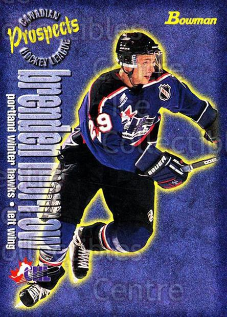 1997 Bowman CHL #147 Brenden Morrow<br/>15 In Stock - $1.00 each - <a href=https://centericecollectibles.foxycart.com/cart?name=1997%20Bowman%20CHL%20%23147%20Brenden%20Morrow...&quantity_max=15&price=$1.00&code=54566 class=foxycart> Buy it now! </a>