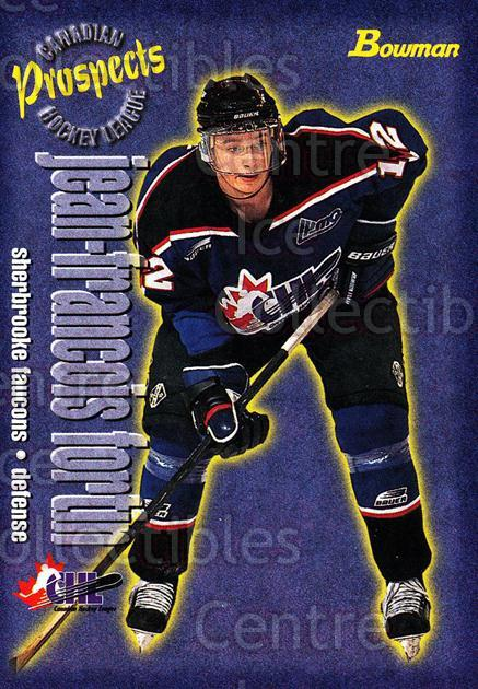 1997 Bowman CHL #157 JF Fortin<br/>14 In Stock - $1.00 each - <a href=https://centericecollectibles.foxycart.com/cart?name=1997%20Bowman%20CHL%20%23157%20JF%20Fortin...&quantity_max=14&price=$1.00&code=54577 class=foxycart> Buy it now! </a>