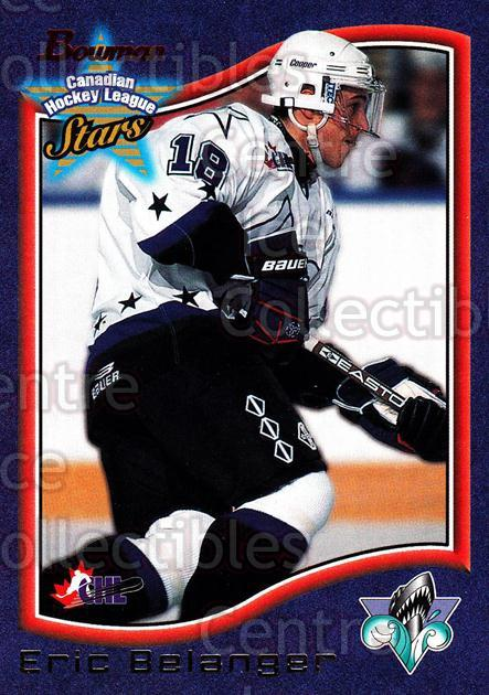 1997 Bowman CHL #73 Eric Belanger<br/>13 In Stock - $1.00 each - <a href=https://centericecollectibles.foxycart.com/cart?name=1997%20Bowman%20CHL%20%2373%20Eric%20Belanger...&quantity_max=13&price=$1.00&code=54641 class=foxycart> Buy it now! </a>