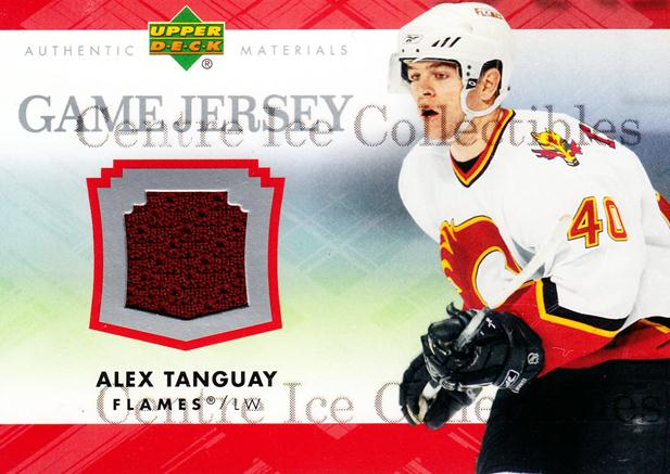 2007-08 Upper Deck Jersey Series One #JAT Alex Tanguay<br/>1 In Stock - $5.00 each - <a href=https://centericecollectibles.foxycart.com/cart?name=2007-08%20Upper%20Deck%20Jersey%20Series%20One%20%23JAT%20Alex%20Tanguay...&quantity_max=1&price=$5.00&code=546552 class=foxycart> Buy it now! </a>