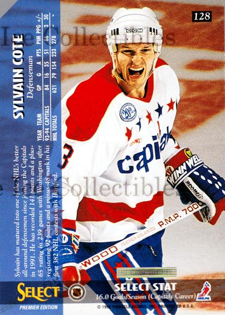 1994-95 Select Promos #128 Sylvain Cote<br/>1 In Stock - $3.00 each - <a href=https://centericecollectibles.foxycart.com/cart?name=1994-95%20Select%20Promos%20%23128%20Sylvain%20Cote...&quantity_max=1&price=$3.00&code=547797 class=foxycart> Buy it now! </a>