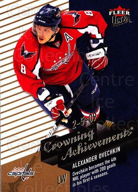 2009-10 Ultra Crowning Achievements #2 Alexander Ovechkin<br/>1 In Stock - $3.00 each - <a href=https://centericecollectibles.foxycart.com/cart?name=2009-10%20Ultra%20Crowning%20Achievements%20%232%20Alexander%20Ovech...&price=$3.00&code=549119 class=foxycart> Buy it now! </a>