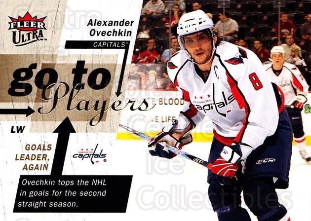 2009-10 Ultra Go To Players #1 Alexander Ovechkin<br/>1 In Stock - $3.00 each - <a href=https://centericecollectibles.foxycart.com/cart?name=2009-10%20Ultra%20Go%20To%20Players%20%231%20Alexander%20Ovech...&price=$3.00&code=549128 class=foxycart> Buy it now! </a>