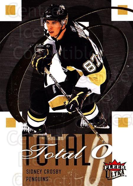 2009-10 Ultra Total O #1 Sidney Crosby<br/>2 In Stock - $5.00 each - <a href=https://centericecollectibles.foxycart.com/cart?name=2009-10%20Ultra%20Total%20O%20%231%20Sidney%20Crosby...&quantity_max=2&price=$5.00&code=549133 class=foxycart> Buy it now! </a>