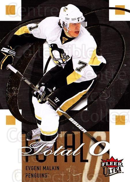 2009-10 Ultra Total O #3 Evgeni Malkin<br/>4 In Stock - $3.00 each - <a href=https://centericecollectibles.foxycart.com/cart?name=2009-10%20Ultra%20Total%20O%20%233%20Evgeni%20Malkin...&quantity_max=4&price=$3.00&code=549135 class=foxycart> Buy it now! </a>