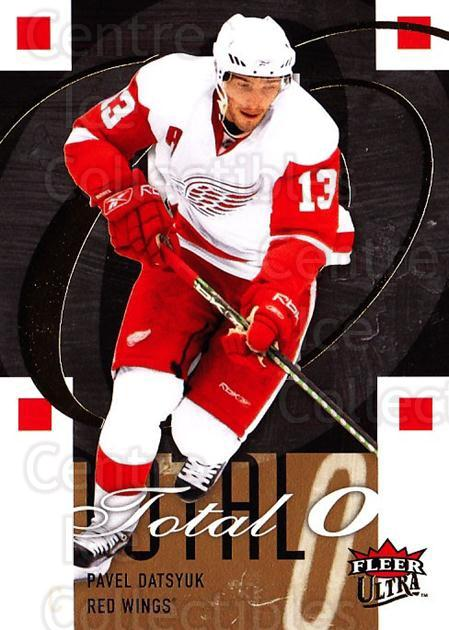 2009-10 Ultra Total O #5 Pavel Datsyuk<br/>3 In Stock - $3.00 each - <a href=https://centericecollectibles.foxycart.com/cart?name=2009-10%20Ultra%20Total%20O%20%235%20Pavel%20Datsyuk...&quantity_max=3&price=$3.00&code=549137 class=foxycart> Buy it now! </a>