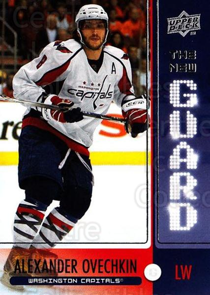 2008-09 Upper Deck The New Guard #2 Alexander Ovechkin<br/>1 In Stock - $3.00 each - <a href=https://centericecollectibles.foxycart.com/cart?name=2008-09%20Upper%20Deck%20The%20New%20Guard%20%232%20Alexander%20Ovech...&price=$3.00&code=549139 class=foxycart> Buy it now! </a>