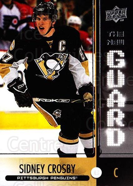 2008-09 Upper Deck The New Guard #14 Sidney Crosby<br/>1 In Stock - $5.00 each - <a href=https://centericecollectibles.foxycart.com/cart?name=2008-09%20Upper%20Deck%20The%20New%20Guard%20%2314%20Sidney%20Crosby...&price=$5.00&code=549151 class=foxycart> Buy it now! </a>