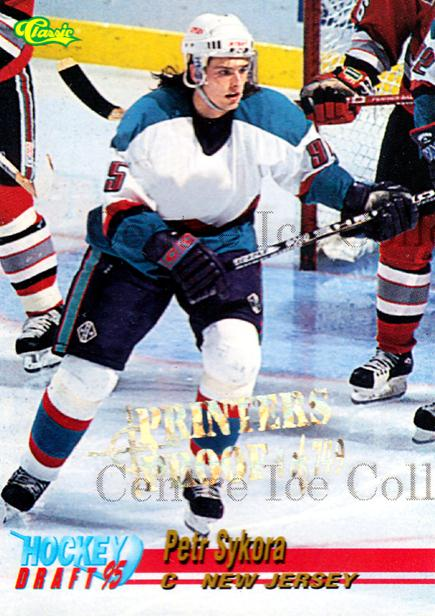 1995 Classic Hockey Draft Printers Proof #18 Petr Sykora<br/>1 In Stock - $3.00 each - <a href=https://centericecollectibles.foxycart.com/cart?name=1995%20Classic%20Hockey%20Draft%20Printers%20Proof%20%2318%20Petr%20Sykora...&quantity_max=1&price=$3.00&code=549341 class=foxycart> Buy it now! </a>