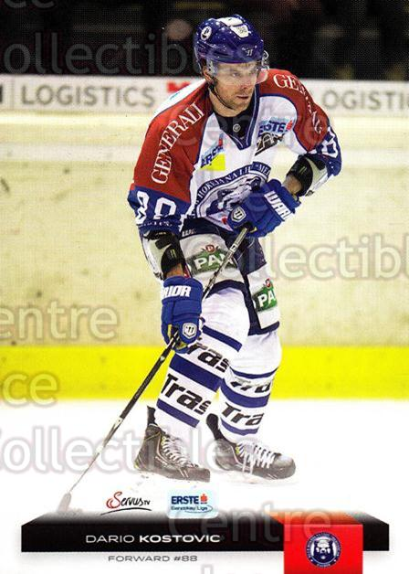 2012-13 Erste Bank Eishockey Liga EBEL #303 Dario Kostovic<br/>5 In Stock - $2.00 each - <a href=https://centericecollectibles.foxycart.com/cart?name=2012-13%20Erste%20Bank%20Eishockey%20Liga%20EBEL%20%23303%20Dario%20Kostovic...&quantity_max=5&price=$2.00&code=550749 class=foxycart> Buy it now! </a>