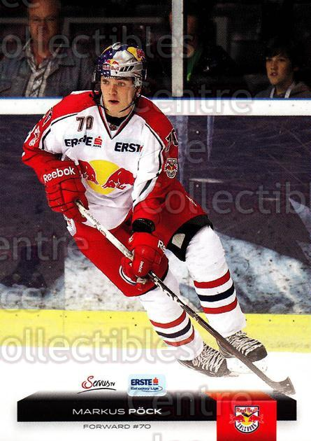 2012-13 Erste Bank Eishockey Liga EBEL #321 Markus Pock<br/>5 In Stock - $2.00 each - <a href=https://centericecollectibles.foxycart.com/cart?name=2012-13%20Erste%20Bank%20Eishockey%20Liga%20EBEL%20%23321%20Markus%20Pock...&quantity_max=5&price=$2.00&code=550767 class=foxycart> Buy it now! </a>