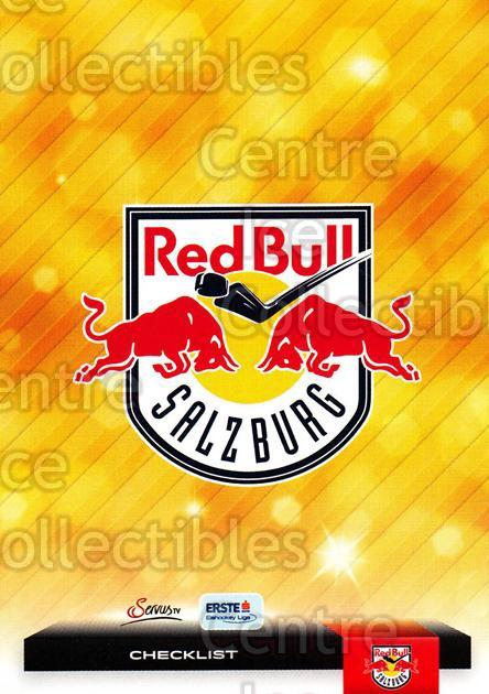2012-13 Erste Bank Eishockey Liga EBEL #324 Checklist, EC Red Bull Salzburg<br/>5 In Stock - $2.00 each - <a href=https://centericecollectibles.foxycart.com/cart?name=2012-13%20Erste%20Bank%20Eishockey%20Liga%20EBEL%20%23324%20Checklist,%20EC%20R...&quantity_max=5&price=$2.00&code=550770 class=foxycart> Buy it now! </a>