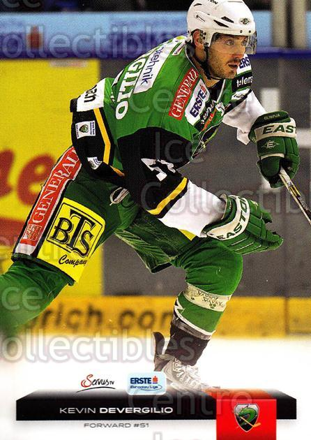 2012-13 Erste Bank Eishockey Liga EBEL #327 Kevin Devergilio<br/>5 In Stock - $2.00 each - <a href=https://centericecollectibles.foxycart.com/cart?name=2012-13%20Erste%20Bank%20Eishockey%20Liga%20EBEL%20%23327%20Kevin%20Devergili...&quantity_max=5&price=$2.00&code=550773 class=foxycart> Buy it now! </a>