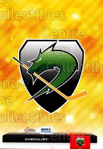 2012-13 Erste Bank Eishockey Liga EBEL #332 Checklist, HDD Tilia Olimpija Ljubljana<br/>5 In Stock - $2.00 each - <a href=https://centericecollectibles.foxycart.com/cart?name=2012-13%20Erste%20Bank%20Eishockey%20Liga%20EBEL%20%23332%20Checklist,%20HDD%20...&quantity_max=5&price=$2.00&code=550778 class=foxycart> Buy it now! </a>