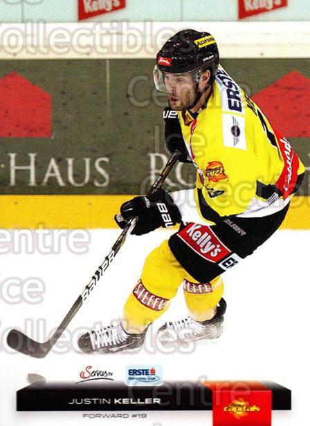 2012-13 Erste Bank Eishockey Liga EBEL #345 Justin Keller<br/>6 In Stock - $2.00 each - <a href=https://centericecollectibles.foxycart.com/cart?name=2012-13%20Erste%20Bank%20Eishockey%20Liga%20EBEL%20%23345%20Justin%20Keller...&quantity_max=6&price=$2.00&code=550791 class=foxycart> Buy it now! </a>