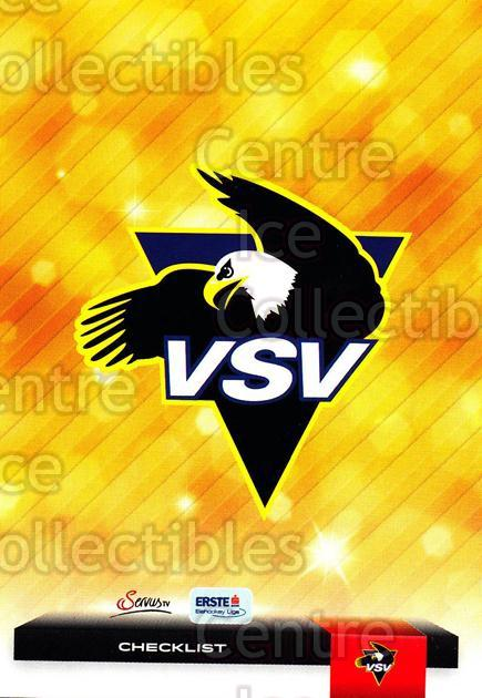 2012-13 Erste Bank Eishockey Liga EBEL #355 Checklist, EC Rekord-Fenster VSV<br/>5 In Stock - $2.00 each - <a href=https://centericecollectibles.foxycart.com/cart?name=2012-13%20Erste%20Bank%20Eishockey%20Liga%20EBEL%20%23355%20Checklist,%20EC%20R...&quantity_max=5&price=$2.00&code=550801 class=foxycart> Buy it now! </a>