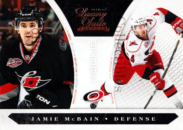2010-11 Luxury Suite #183 Jamie McBain<br/>2 In Stock - $5.00 each - <a href=https://centericecollectibles.foxycart.com/cart?name=2010-11%20Luxury%20Suite%20%23183%20Jamie%20McBain...&price=$5.00&code=551623 class=foxycart> Buy it now! </a>