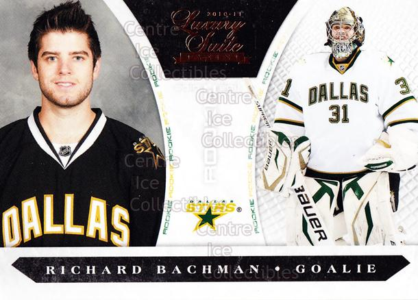 2010-11 Luxury Suite #190 Richard Bachman<br/>1 In Stock - $5.00 each - <a href=https://centericecollectibles.foxycart.com/cart?name=2010-11%20Luxury%20Suite%20%23190%20Richard%20Bachman...&quantity_max=1&price=$5.00&code=551630 class=foxycart> Buy it now! </a>