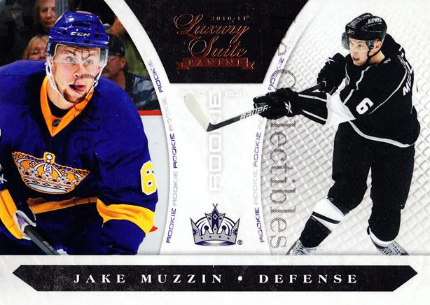 2010-11 Luxury Suite #194 Jake Muzzin<br/>3 In Stock - $5.00 each - <a href=https://centericecollectibles.foxycart.com/cart?name=2010-11%20Luxury%20Suite%20%23194%20Jake%20Muzzin...&price=$5.00&code=551632 class=foxycart> Buy it now! </a>