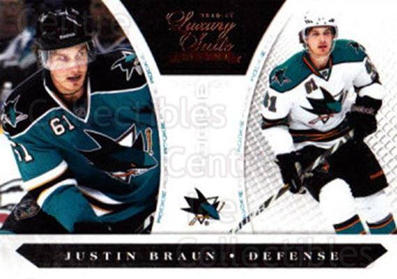 2010-11 Luxury Suite #216 Justin Braun<br/>1 In Stock - $5.00 each - <a href=https://centericecollectibles.foxycart.com/cart?name=2010-11%20Luxury%20Suite%20%23216%20Justin%20Braun...&quantity_max=1&price=$5.00&code=551654 class=foxycart> Buy it now! </a>