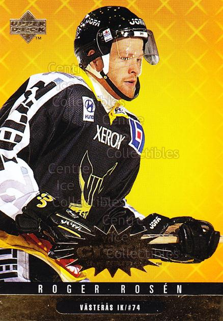 1997-98 Swedish Collectors Choice Crash Gold #30 Roger Rosen<br/>6 In Stock - $2.00 each - <a href=https://centericecollectibles.foxycart.com/cart?name=1997-98%20Swedish%20Collectors%20Choice%20Crash%20Gold%20%2330%20Roger%20Rosen...&quantity_max=6&price=$2.00&code=55376 class=foxycart> Buy it now! </a>