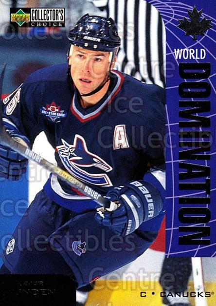 1997-98 Collectors Choice World Domination #10 Trevor Linden<br/>2 In Stock - $2.00 each - <a href=https://centericecollectibles.foxycart.com/cart?name=1997-98%20Collectors%20Choice%20World%20Domination%20%2310%20Trevor%20Linden...&quantity_max=2&price=$2.00&code=55468 class=foxycart> Buy it now! </a>