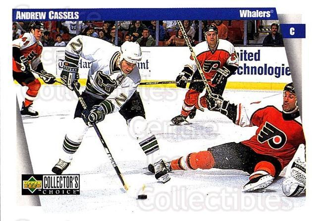 1997-98 Collectors Choice #113 Andrew Cassels<br/>5 In Stock - $1.00 each - <a href=https://centericecollectibles.foxycart.com/cart?name=1997-98%20Collectors%20Choice%20%23113%20Andrew%20Cassels...&quantity_max=5&price=$1.00&code=55497 class=foxycart> Buy it now! </a>