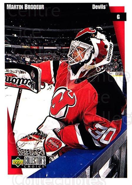 1997-98 Collectors Choice #141 Martin Brodeur<br/>4 In Stock - $2.00 each - <a href=https://centericecollectibles.foxycart.com/cart?name=1997-98%20Collectors%20Choice%20%23141%20Martin%20Brodeur...&quantity_max=4&price=$2.00&code=55528 class=foxycart> Buy it now! </a>