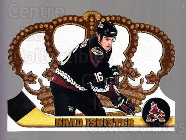 1997-98 Crown Royale #103 Brad Isbister<br/>5 In Stock - $1.00 each - <a href=https://centericecollectibles.foxycart.com/cart?name=1997-98%20Crown%20Royale%20%23103%20Brad%20Isbister...&quantity_max=5&price=$1.00&code=55773 class=foxycart> Buy it now! </a>