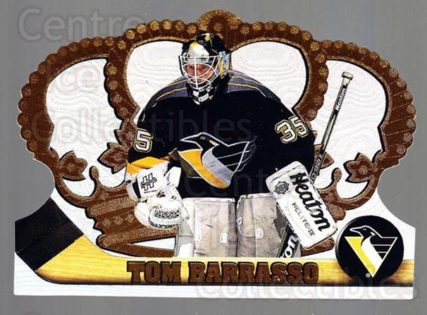 1997-98 Crown Royale #108 Tom Barrasso<br/>5 In Stock - $1.00 each - <a href=https://centericecollectibles.foxycart.com/cart?name=1997-98%20Crown%20Royale%20%23108%20Tom%20Barrasso...&price=$1.00&code=55778 class=foxycart> Buy it now! </a>