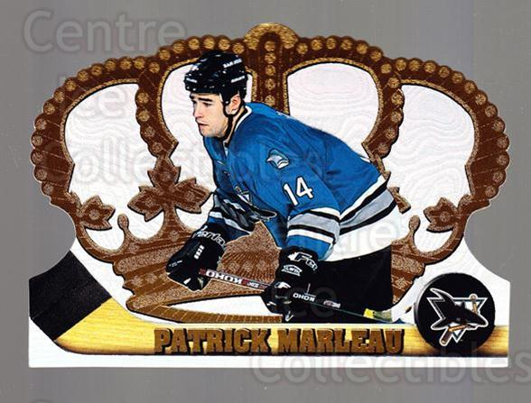 1997-98 Crown Royale #120 Patrick Marleau<br/>5 In Stock - $1.00 each - <a href=https://centericecollectibles.foxycart.com/cart?name=1997-98%20Crown%20Royale%20%23120%20Patrick%20Marleau...&quantity_max=5&price=$1.00&code=55790 class=foxycart> Buy it now! </a>