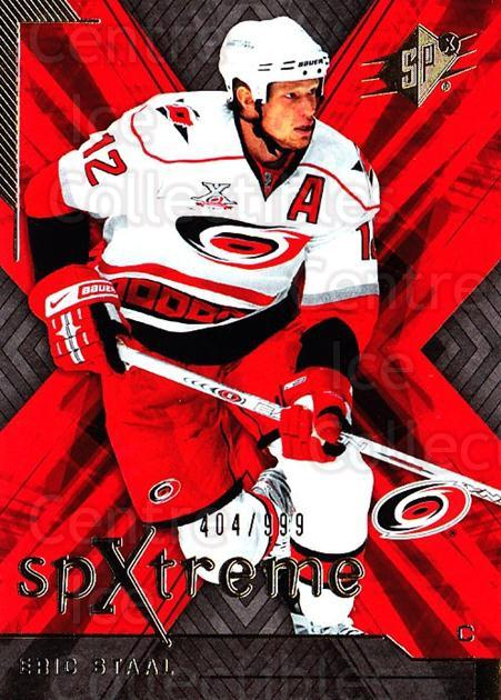 2007-08 SPx SPXtreme #26 Eric Staal<br/>1 In Stock - $3.00 each - <a href=https://centericecollectibles.foxycart.com/cart?name=2007-08%20SPx%20SPXtreme%20%2326%20Eric%20Staal...&quantity_max=1&price=$3.00&code=557913 class=foxycart> Buy it now! </a>